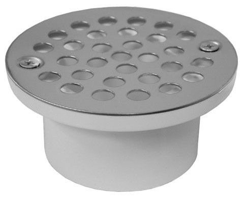 """2"""" X 3"""" PVC General Purpose Drain W/Stainless Steel Strainer"""