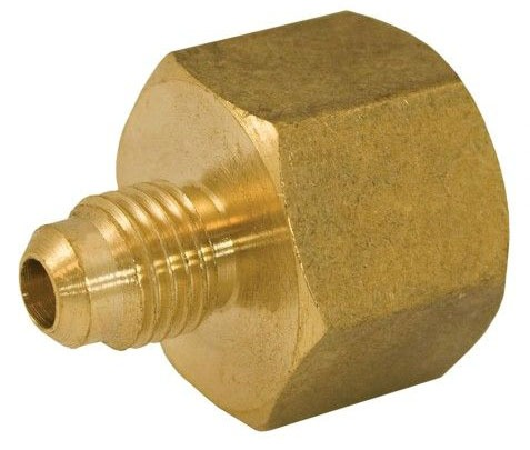 "1/2"" OD X 1/2"" FIP Brass Coupling Style 46"