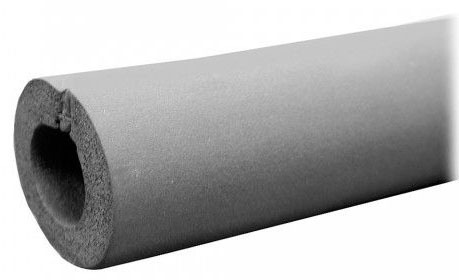 """3-1/8"""" ID X 1"""" Wall Seamless Rubber Pipe Insulation"""