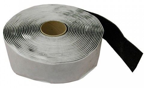 "1/8 X 2 X 30"" Pipe Insulation Tape, Gray"