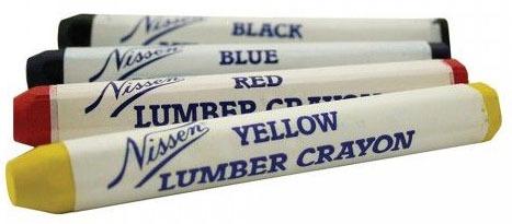 Lumber Crayon, Blue