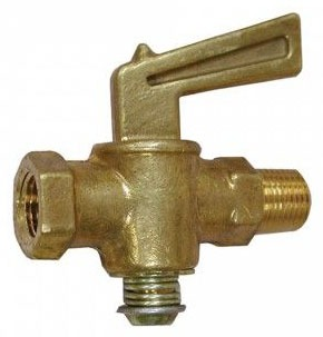 "3/8"" FIP X 3/8"" MIP Shut Off Valve"