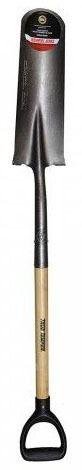 Drain Spade Handle Shovel, Wood Handle