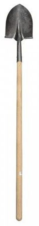 Economy Wood Long Handle Round Point Shovel