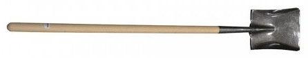 Economy Wood Long Handle Square Point Shovel