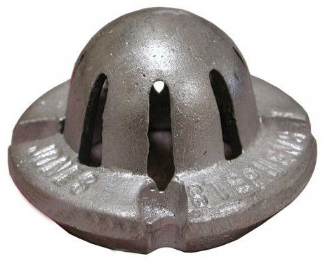 """3"""" Aluminum Dome Strainer For S59-003"""