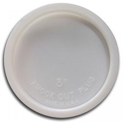 """3"""" Plastic Knockout Test Plug"""