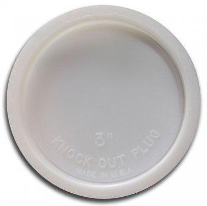 """2"""" Plastic Knockout Test Plug"""