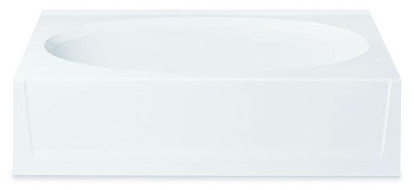 """60 X 36 X 15"""" LASCOAT OVAL TUB"""