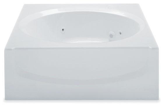 "60"" x 42"" x 20-1/4"" Alcove Bathtub - ALANA II, White"