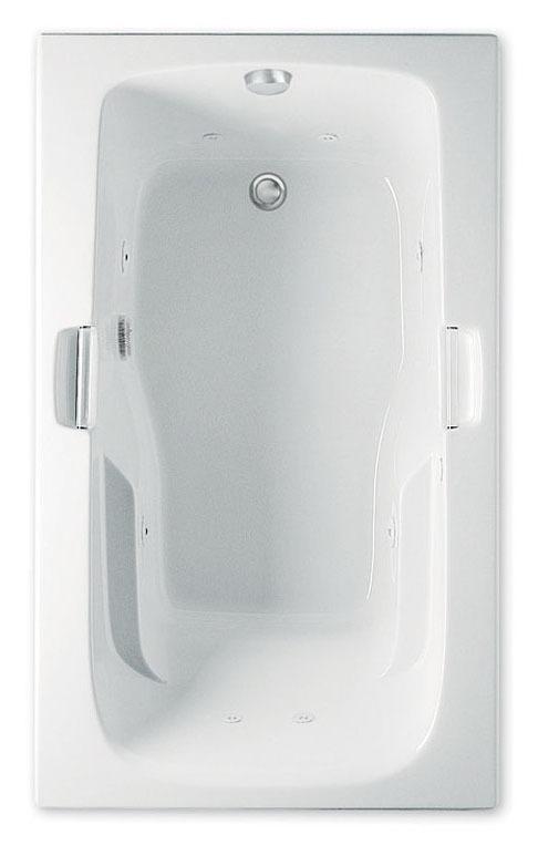 """60"""" x 36"""" x 21-1/2"""" Bathtub - MONTROSE I, White"""