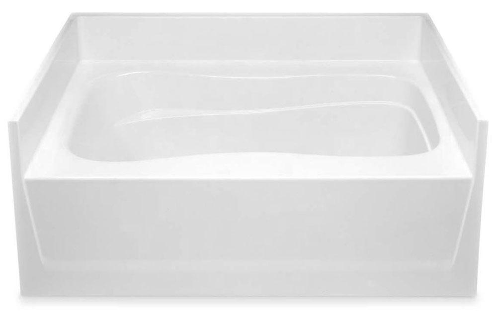 """60"""" x 42"""" x 25"""" Alcove Bathtub - White"""
