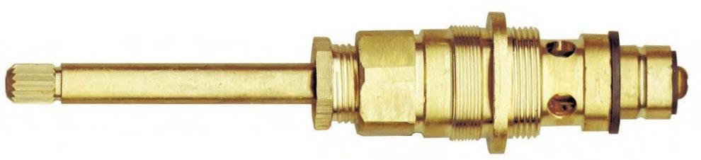 """16"""" Brass Tub and Shower Faucet Diverter Stem - Compression"""
