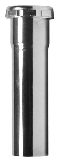 "1-1/2"" Chrome Plated Brass Tubular Extension Tube"