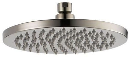 1-Setting 2.5 GPM Round Shower Head - ODIN, Brilliance Brushed Nickel