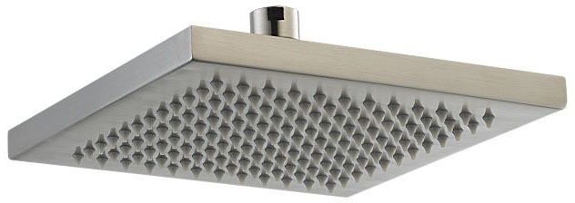 Arzo 1-Function Showerhead - Brilliance Stainless, 2.5 GPM