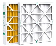 "20"" x 24"" x 1"" MERV 10 Pleated Air Filter - Z-Line, Extended Surface, Synthetic Fiber Media, 300 FPM"