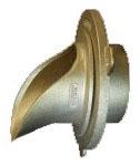 """5-3/4"""" Roof Drain Downspout Nozzle - Cast Bronze"""