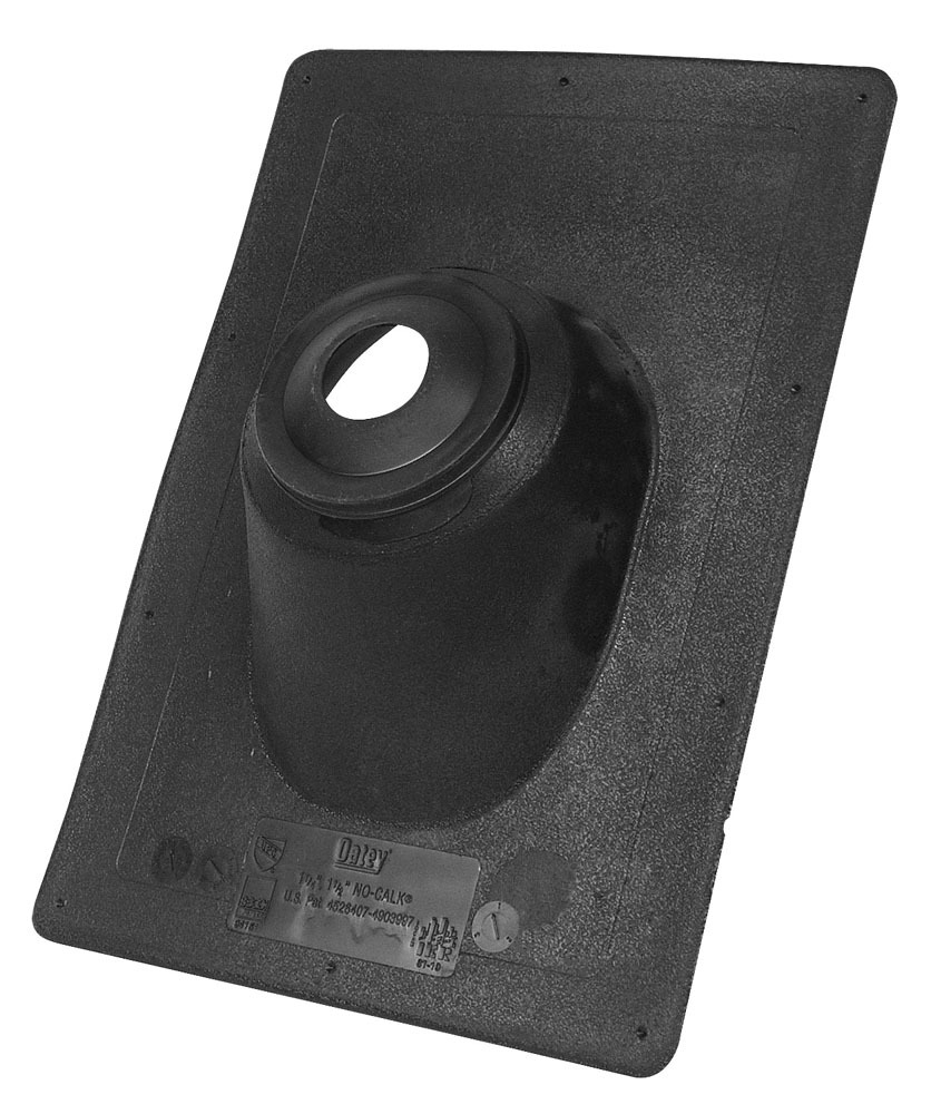 """1.2"""" to 1.5"""" Thermoplastic Roof Flashing - No-Calk, 0 to 45D Pitch"""