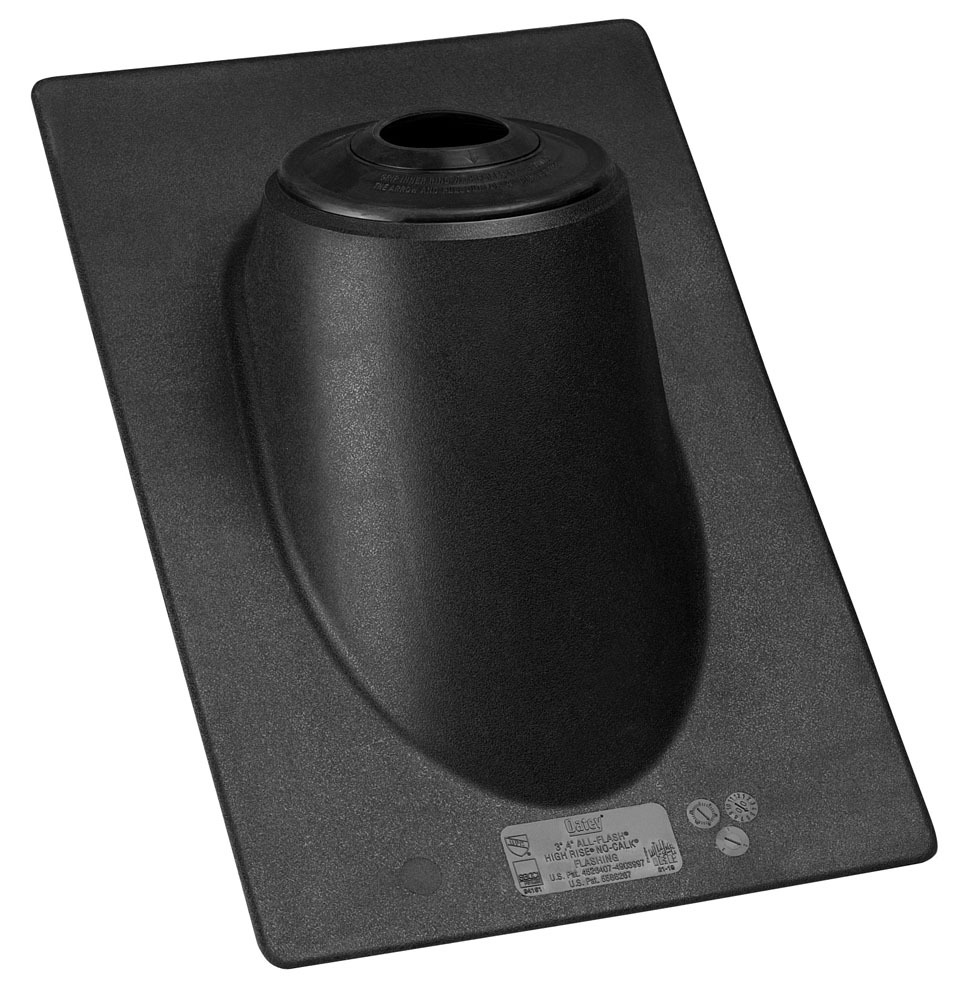 """3"""" to 4"""" Thermoplastic Roof Flashing - No-Calk, 60D Pitch"""