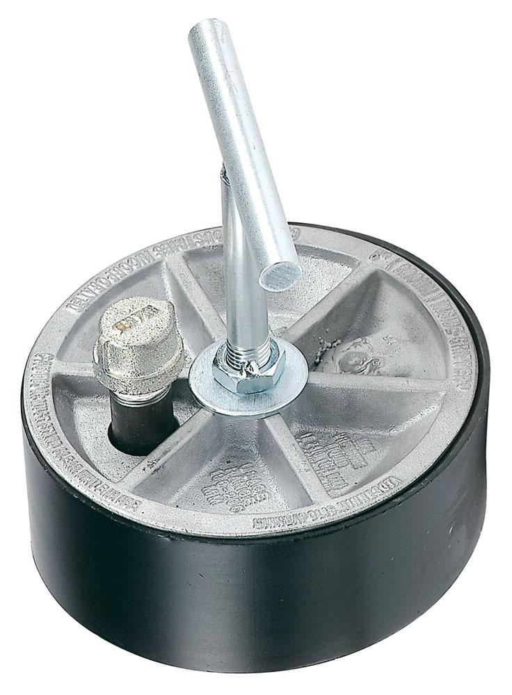 "8"" T-Handle Sewer Air Gripper Plug - Aluminum"
