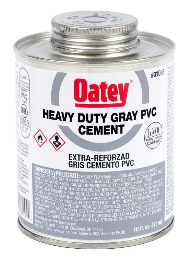 1GAL PVC HVY DTY GRY