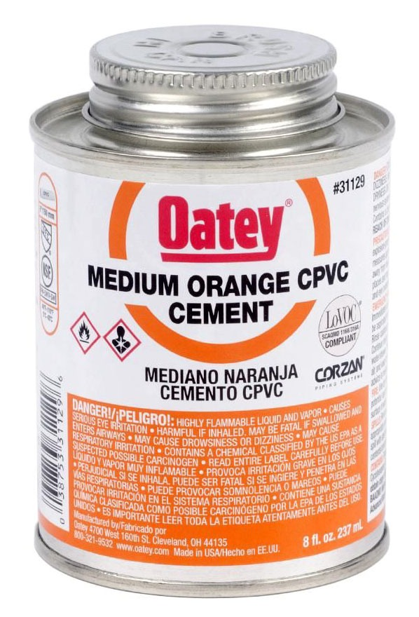 8OZ ORANGE CPVC CEMENT