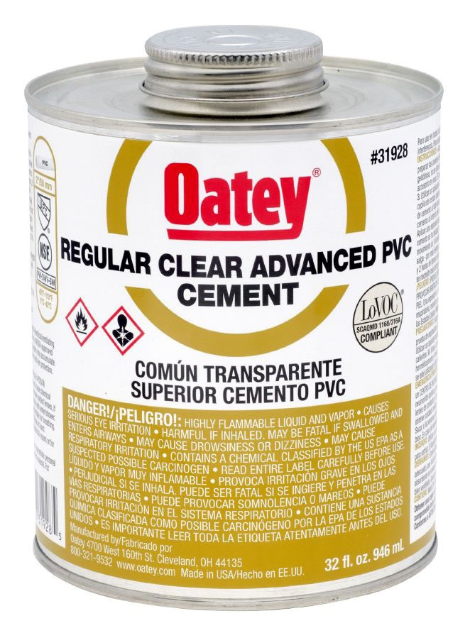 Regular Solvent Cement, Clear