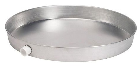 "24"" Round Water Heater Pan - Aluminum"