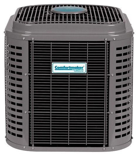 2 Ton Air Conditioner Condensing Unit - 17 SEER, Two Stage, Communicating, 208/230-1-60