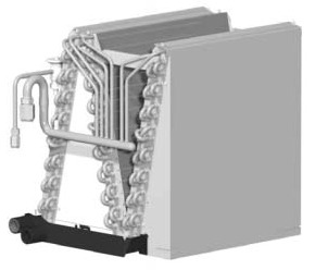 36000 BTU Air Conditioner Evaporator Coil - Aluminum Tube / Fin