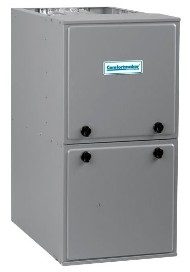 66000 BTU Natural Gas Heating Furnace - Performance, Pre-Painted Steel Cabinet