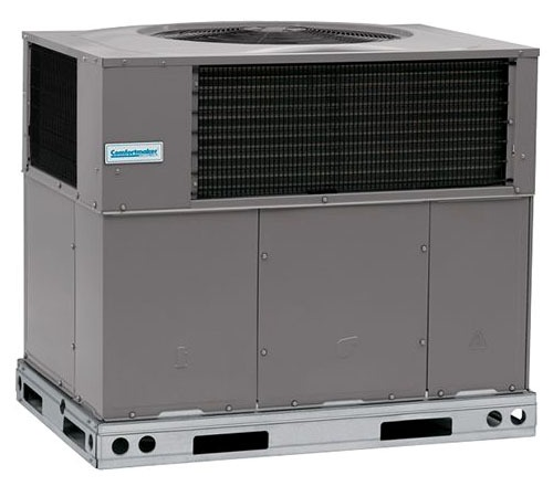 3 Ton 15 Seer 208/230 Volt Single Phase 90,000 BTU Tin Coated Copper Main Tubes Stainless Heat Exchanger R410A Gas/Electric Package Air Conditioner