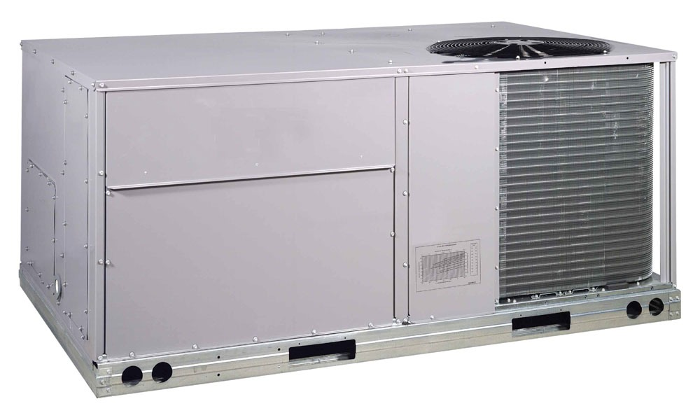 3 Ton 208/230 Volt 3 Phase Low Gas Heat Medium Static Motor Rooftop Electric Cooling Unit