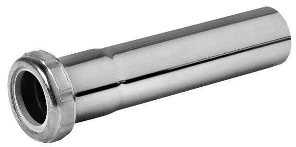 "1-1/4"" Chrome Plated Brass Tubular Extension Tube"