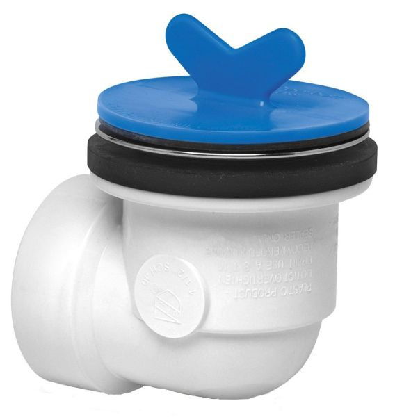 SCH 40 Bath Waste and Overflow Rough-In Kit - PVC