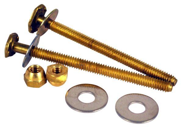 """14 X 3-1/2"""" Closet Bolt, Brass"""