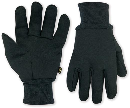 Black Work Gloves - Cotton / Polyester