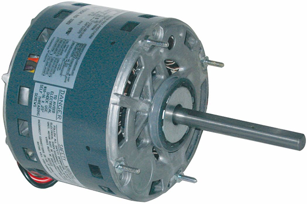 3/4 HP PSC Direct Drive Blower Motor - Energy Saver, 115 V, 1-Phase, 1075 RPM, 3-Speed