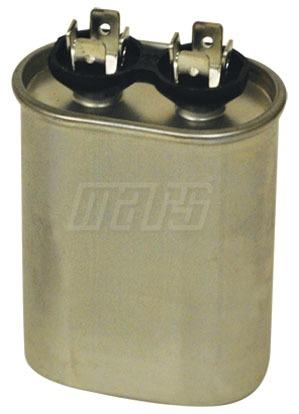 45 Microfarad 440/370 VAC Motor Run Capacitor - JARD, Aluminum, Oval