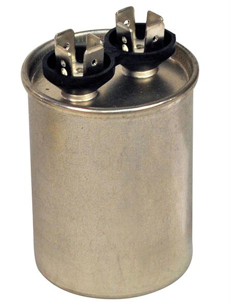 5 Microfarad 440/370 VAC Motor Run Capacitor - Aluminum, Round