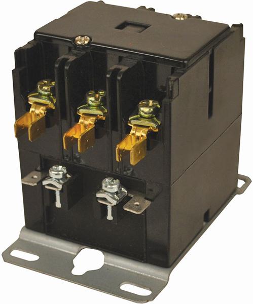 3 Pole Definite Purpose Contactor - JARD, 120 V, 30 A