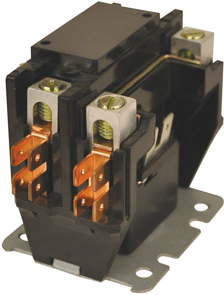 1-1/2 Pole Definite Purpose Contactor - JARD, 24 V, 40 A