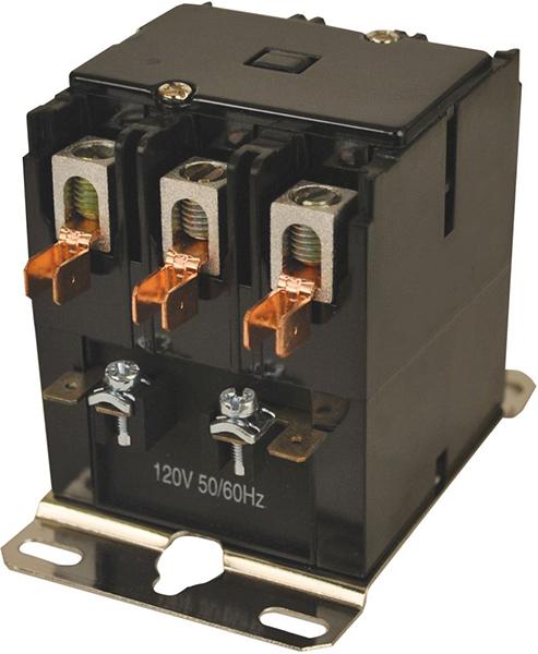 3 Pole Definite Purpose Contactor - JARD, 120 V, 40 A