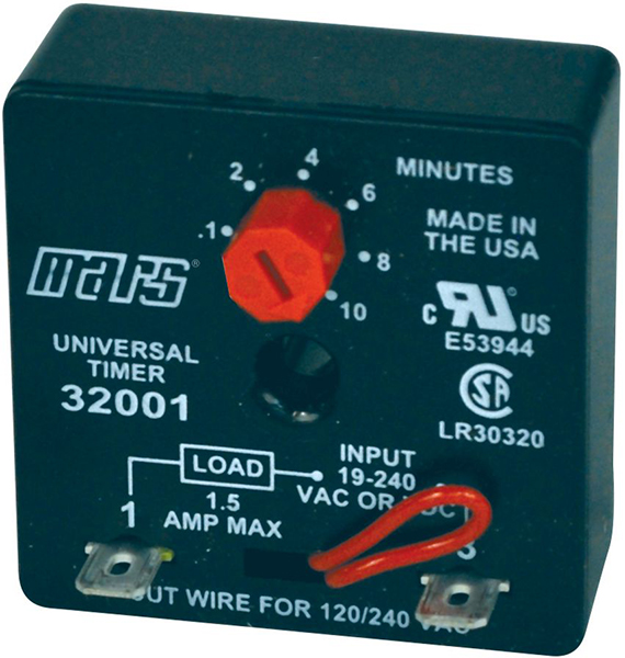 Adjustment Delay-On-Break Solid State Timer - 19 to 240 V, 1.5 A