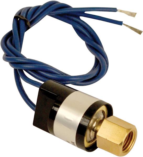 Close on Rise SPST Pressure Switch - KLIXON, 5 psi Open, 20 psi Close