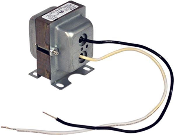 50 VA End Bell Control Transformer - 120/208/240 V Primary / 24 V Secondary, H-Bracket
