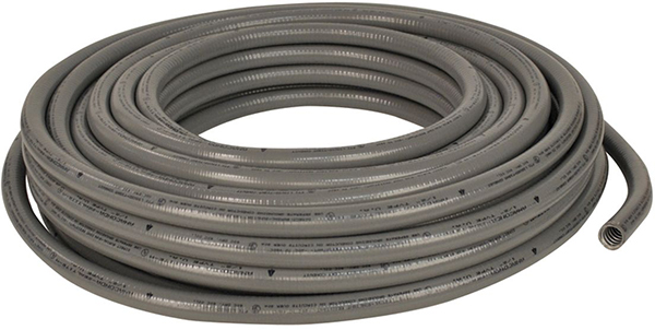 "1/2"" x 100' Flexible Liquid Tight Non-Metallic Conduit - PVC"