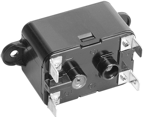 SPST Fan Switching Relay - 20.4 V Pick-Up, 18 A
