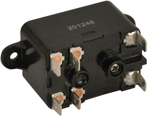 SPNO-SPNC Fan Switching Relay - 20.4 V Pick-Up, 18 A